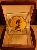 Medalla de Águstín Lara