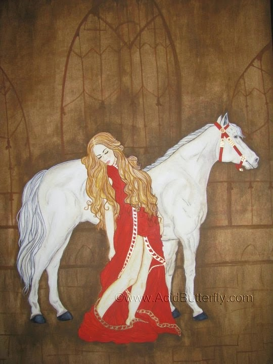 Before The Ride by Enchanted Visions' Artist, Heather Kilgore