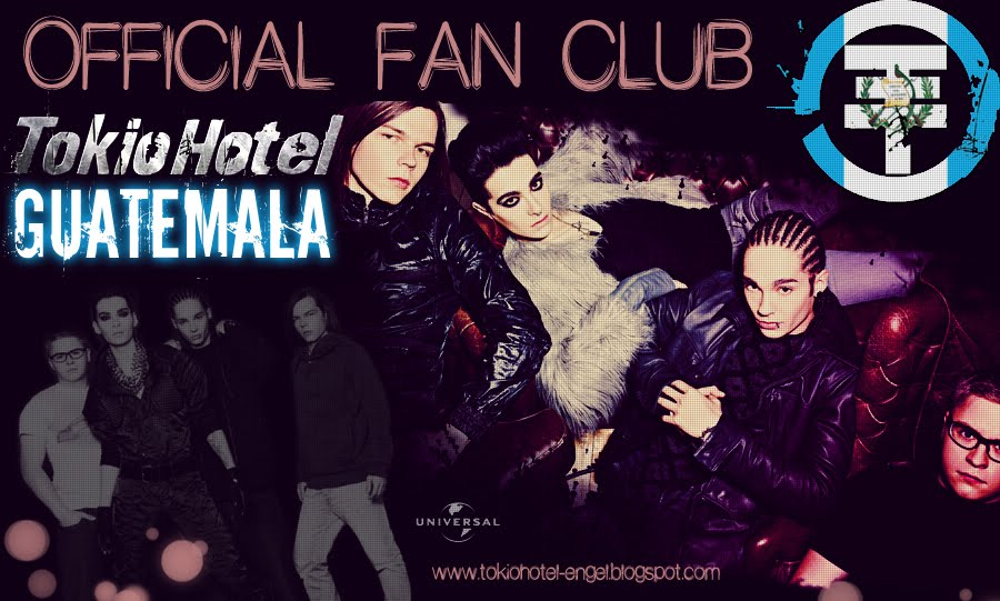 Official Fan Club Tokio Hotel Guatemala