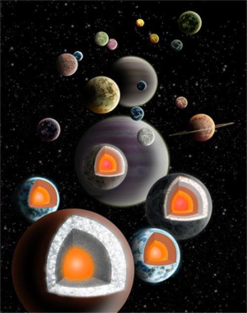 exoplanet berlian, planet berlian