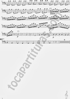 2 Partitura de A Thousand Yars para Violonchelo Sheet Music for Violonchelo