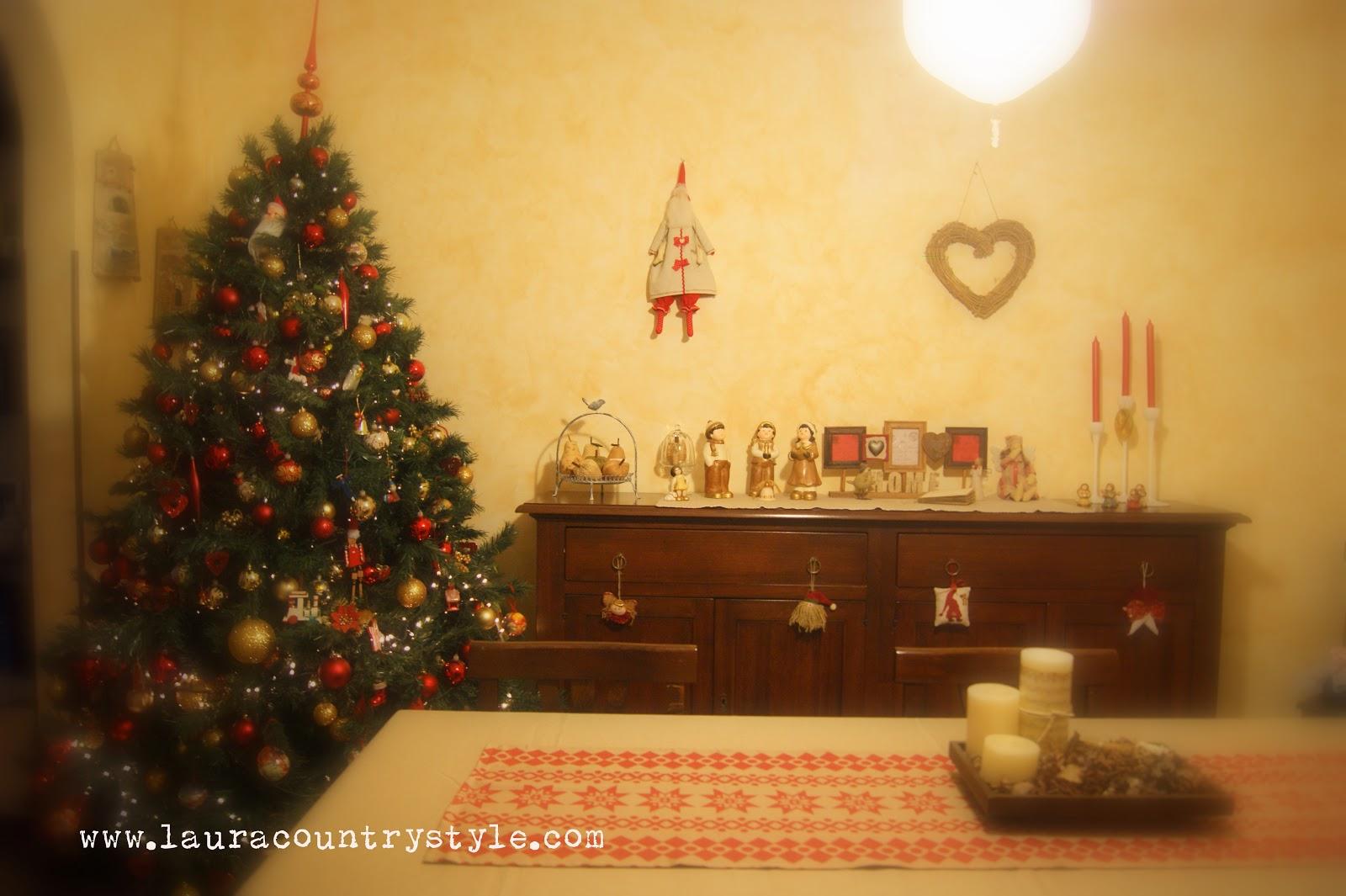 Decorare Casa Per Natale Stile Country : Decorare la camera del ...