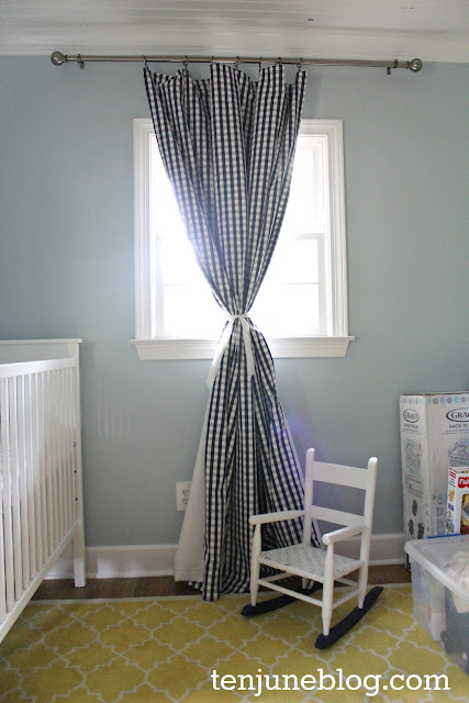 DIY blackout curtain tutorial