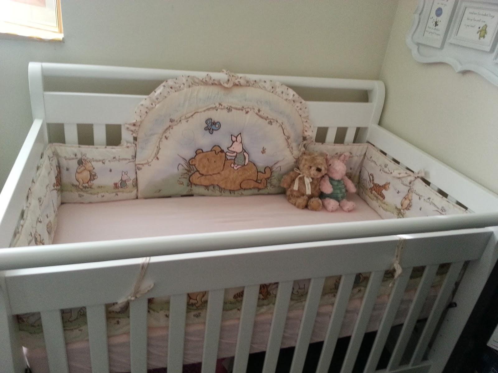our beck treks classic winnie the pooh nursery corner. Black Bedroom Furniture Sets. Home Design Ideas