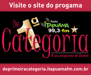 Visite o site do De 1º Categoria o seu programa de quinta.