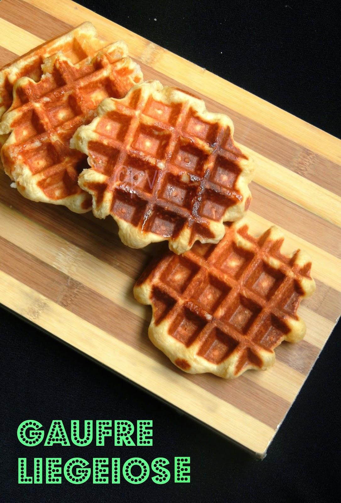 Waffle, Liege Waffle, Gaufre Liegeoise, Gaufre de Liege