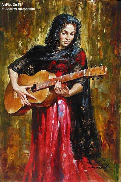 Andrew Atroshenko paintings