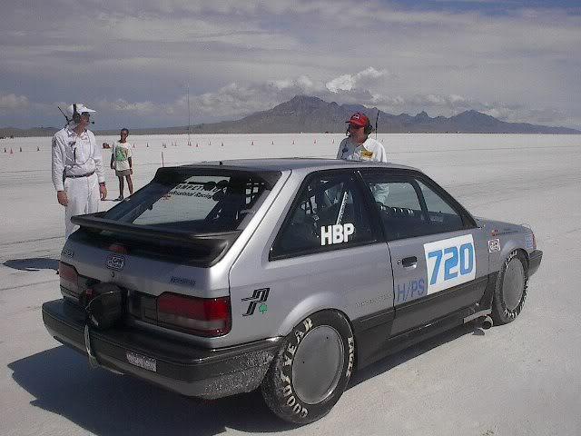 Mazda 323 BF, Familia, rekord prędkości, pustynia, wyścigi, japoński hatchback, tuning, fotki