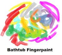 Church House Collection Blog Bathtub Fingerpaints