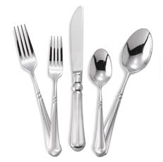 Setting for Four: What I Love: Mikasa French Countryside Flatware
