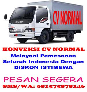 KONVEKSI CV NORMAL MELAYANI PESANAN SELURUH INDONESIA