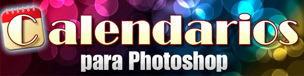 Calendarios gratis para Photoshop