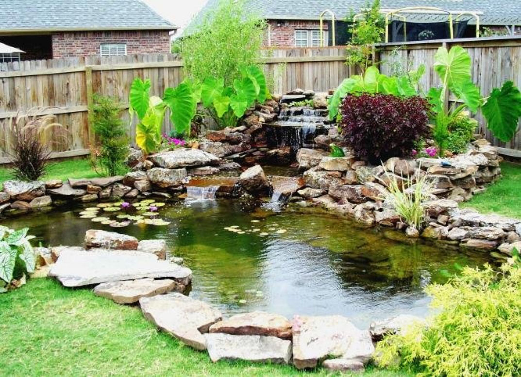 Outsmart the smell of septic tank amazing home design for Koi pond in house