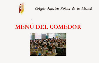 MENÚ DEL COMEDOR