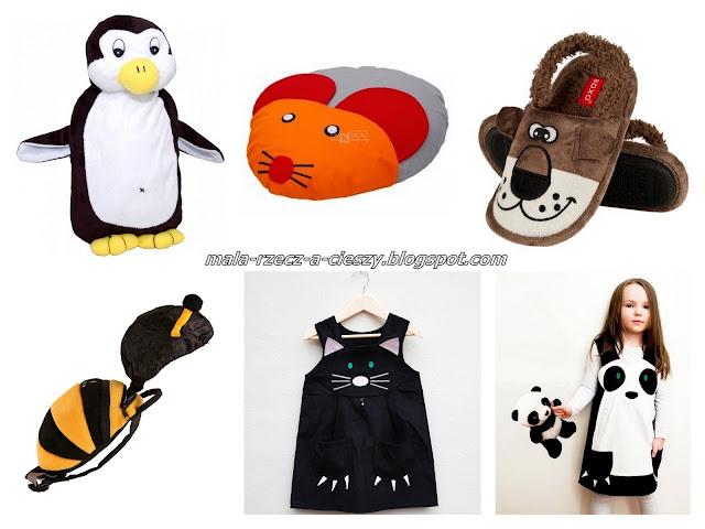 5 pomysłów na praktyczny prezent dla dziecka z motywem zwierzątek