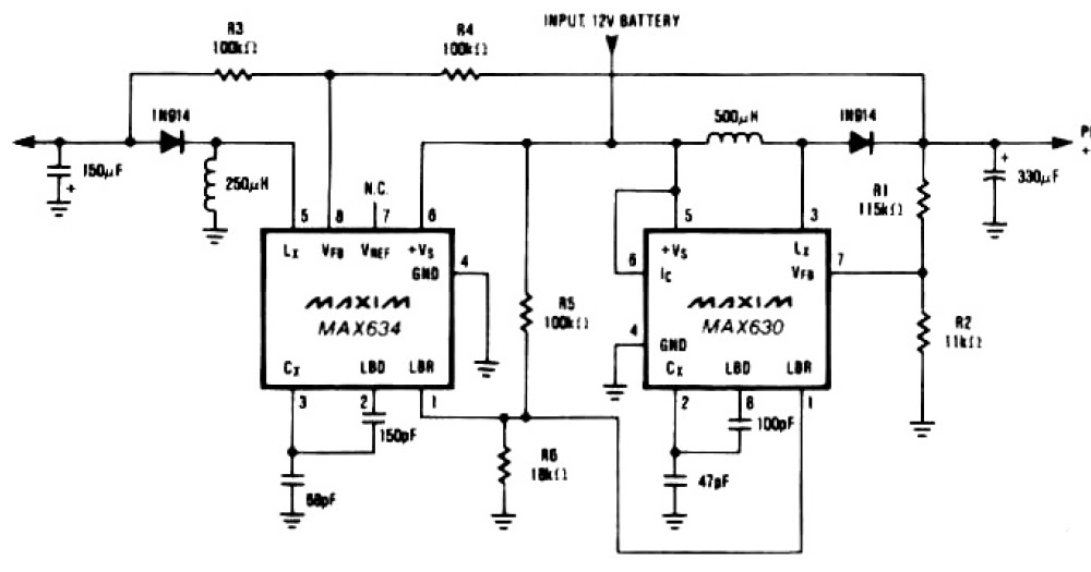 dual tracking regulator circuit