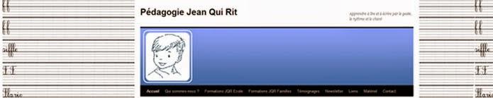Pédagogie Jean Qui Rit