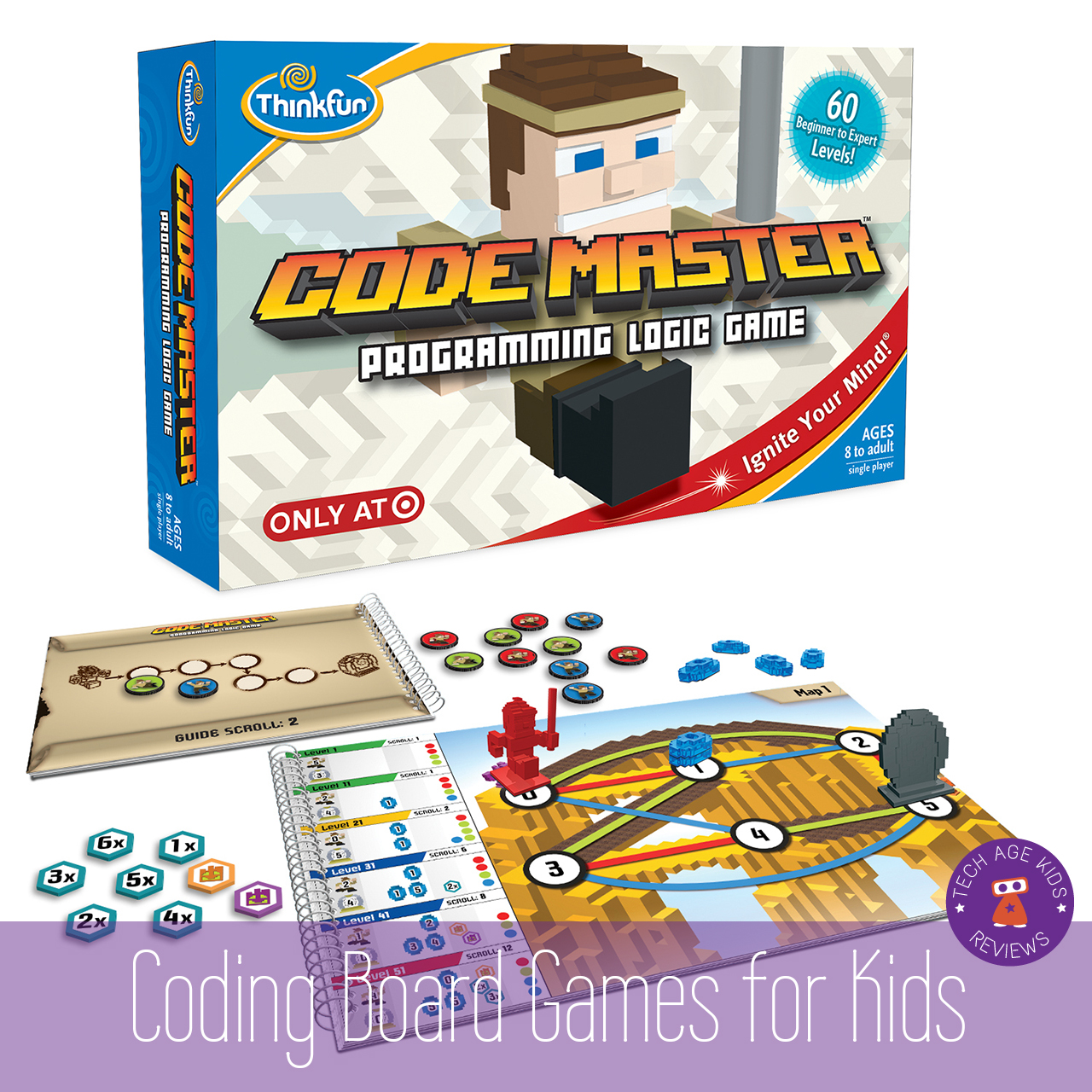 Toys For Games : Board games that teach coding concepts to kids and teens