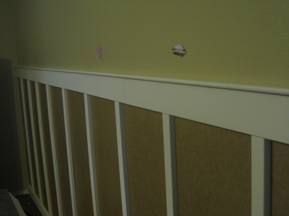 handy honey master bedroom wainscoting