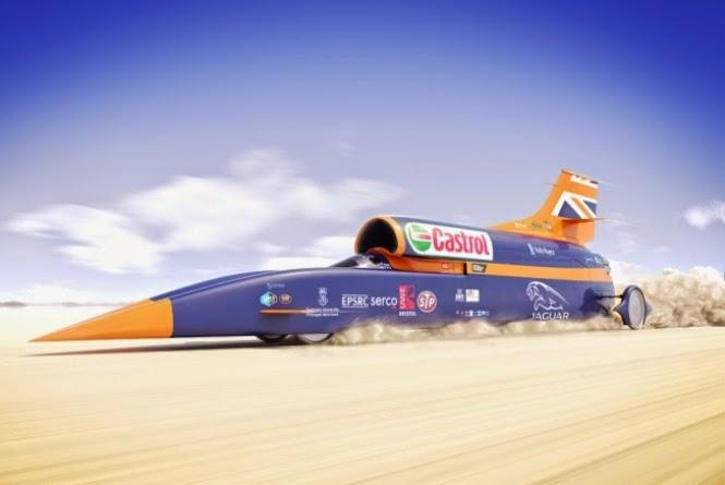 Bloodhound pretende bater o recorde mundial de velocidade