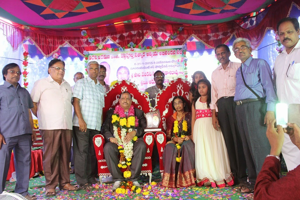 Superannuation Retirement of Sri P.V.S.Prakasarao, SP Amalapuram