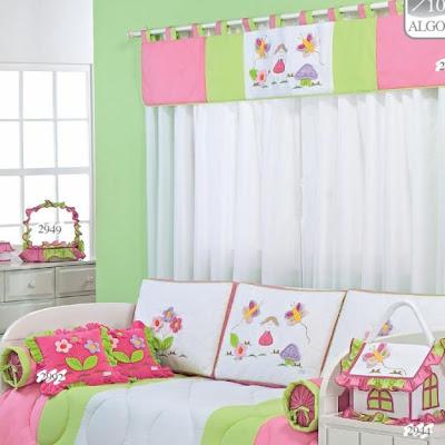 Cortinas para dormitorios de niñas