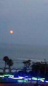 Eclipse lunar en Castellón