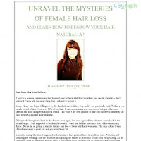 Unravel The Mysteries Of Female Hair Loss