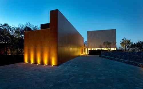 Podio casa mty por bgp arquitectura for Arquitectura mexicana