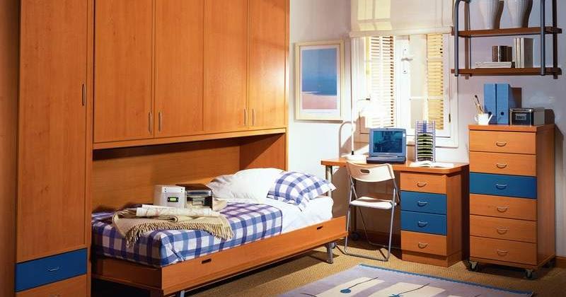 Dormitorio juvenil para espacios peque - Disenos de dormitorios pequenos ...
