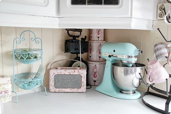 cozinha tons pastel