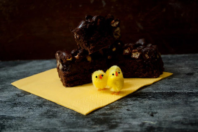 mini, egg, rocky, road, cake, recipe, blog, blogger, uk, food, baking, easter