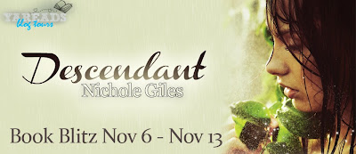 Book Blitz, Excerpt and Giveaway: Descendant by Nichole Giles