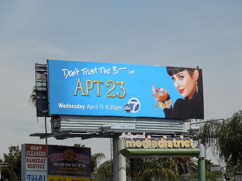 Apt 23 billboard