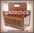 Wyzwanie siódemkowe nr.7 Gazetnik