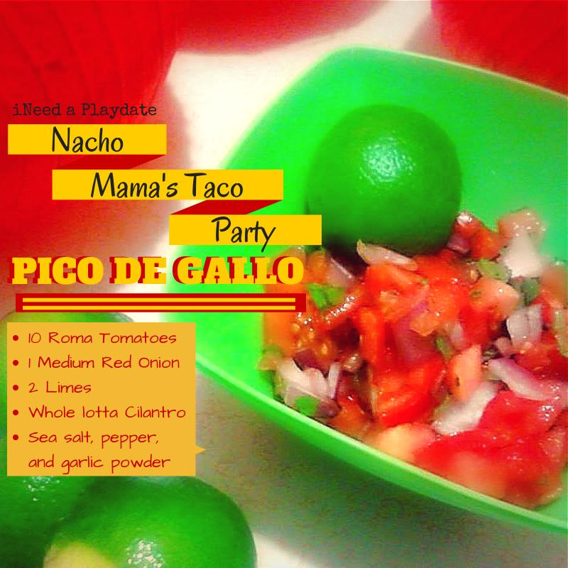 Last  Minute Fiesta Pico De Gallo