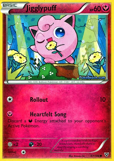 Jigglypuff Pokemon X and Y Card