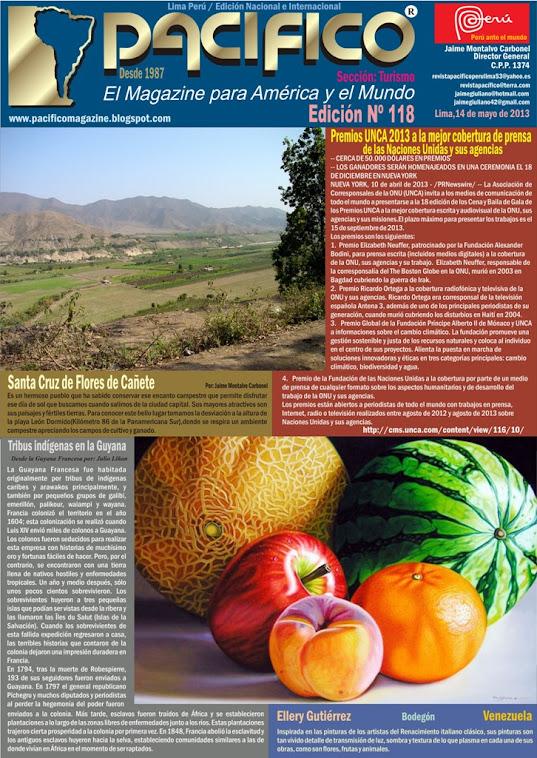 Revista Pacífico Nº 118 Turismo