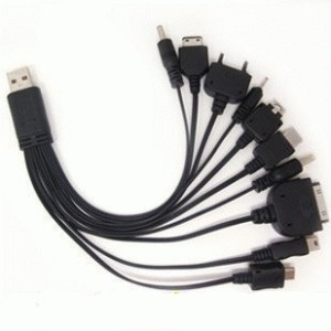 Kabel Charger HP 10 in 1
