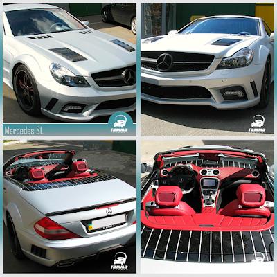 Тюнинг и рестайлинг Mercedes SL