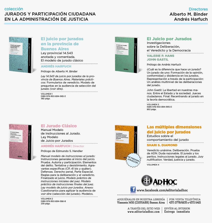 Colección Juicio por Jurados