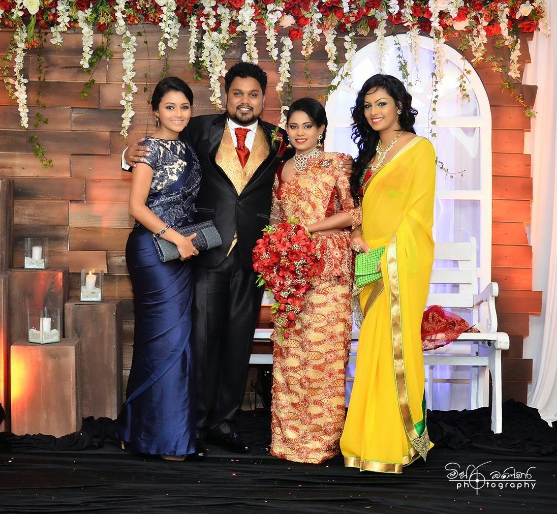 Bridal Photo Gallery: Actor Lakshan Wattuhewa's Wedding & Homecoming