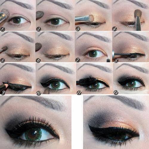 Eye makeup Tutorials...