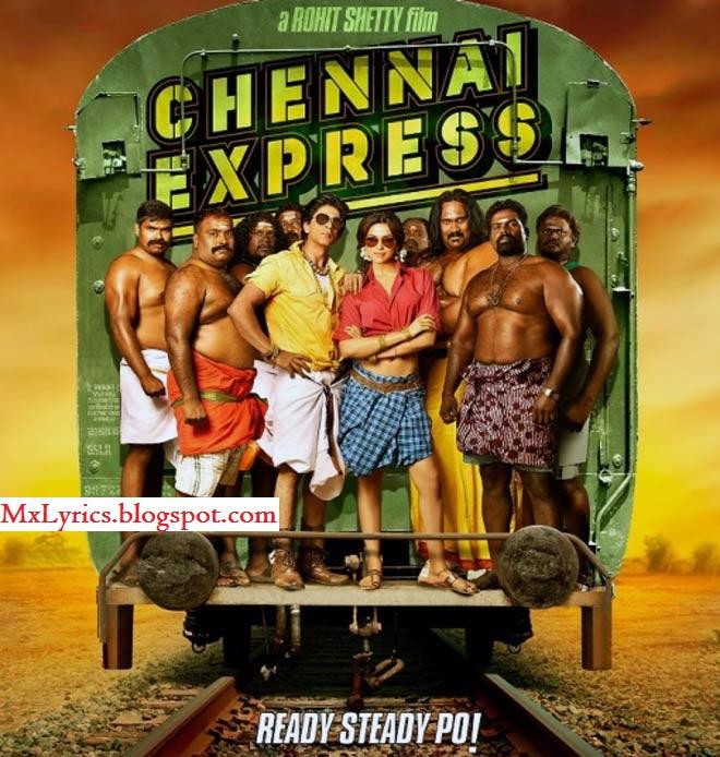 TERA RASTA main chhodoon na Lyrics - Chennai Express (2013)