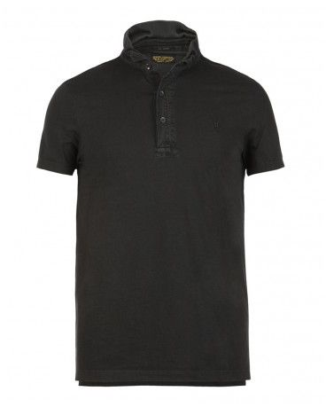 Vintage polo shirts for men collared collarless by allsaints for All saints polo shirt
