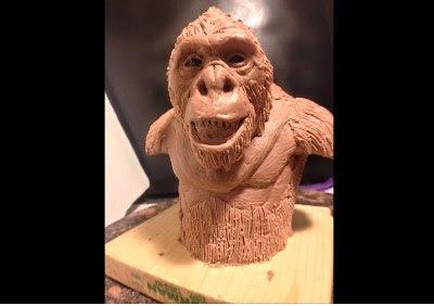 Special Effects Artist Bigfoot Movie