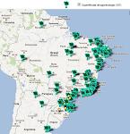 INTERMAPAS - Mapa de Experiências Agroecológicas no Brasil