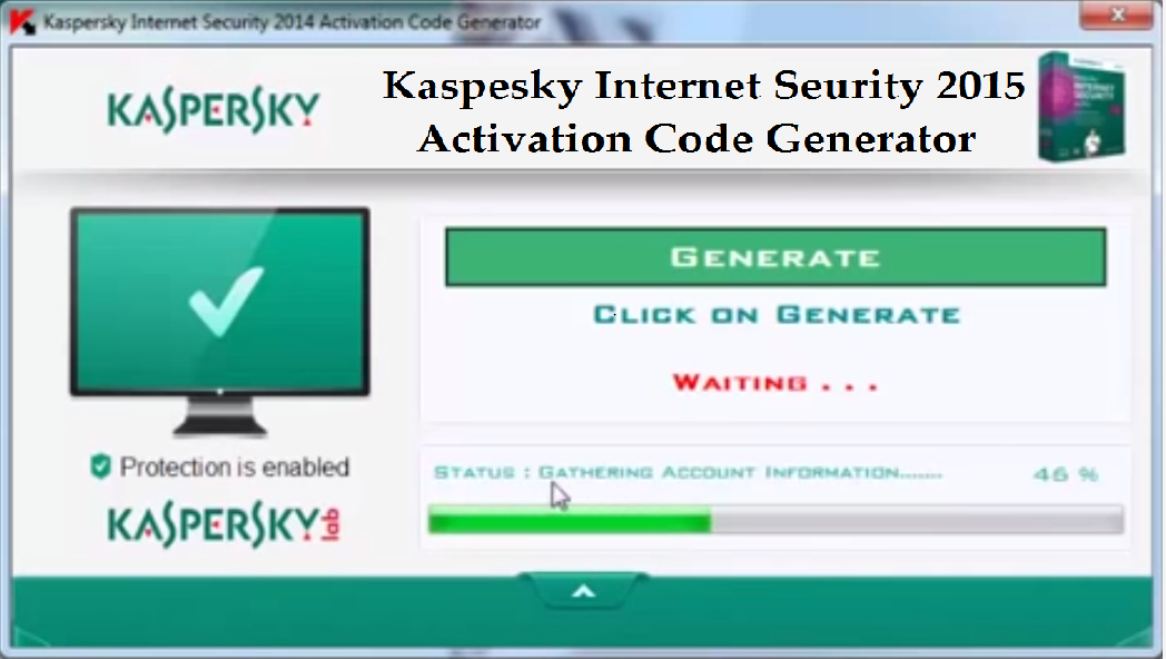 Kaspersky Internet Security 2014 crack And Keys