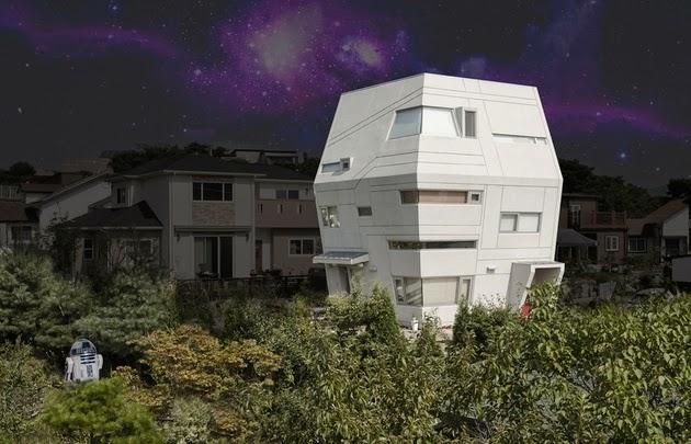 Rumah Unik Terinspirasi Film Star Wars