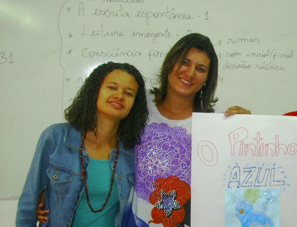 Maibe Aguiar e a Dr. Ana Rita Barbosa